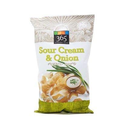 Potato Chips, 365® Sour Cream & Onion Potato Chips (10 oz Bag)