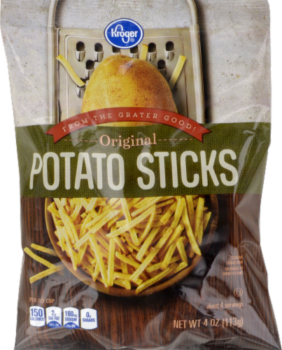 "Potato Chips, Kroger® ""Small Size"" Original Potato Sticks (4 oz Bag)"