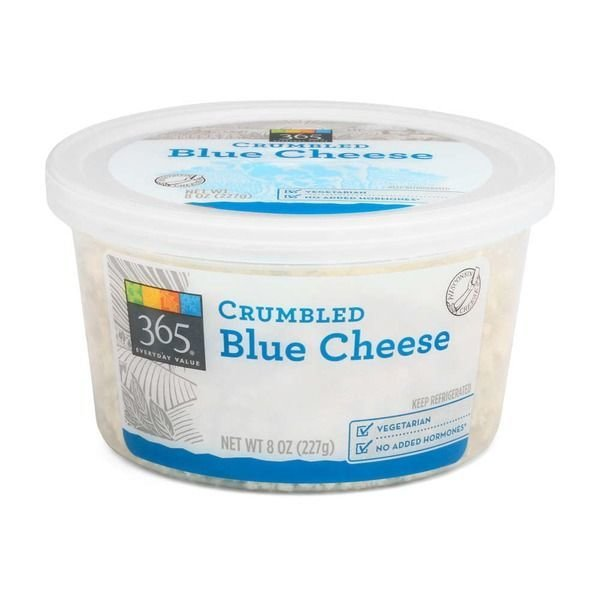 Crumbled Cheese, 365® Crumbled Blue Cheese (6 oz Cup)