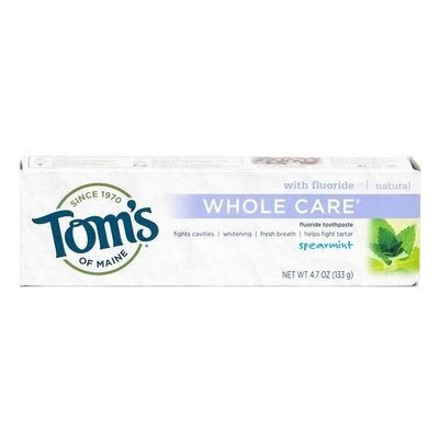 Toothpaste, Tom's of Maine® Whole Care Spearmint Toothpaste (5.5 oz Box)