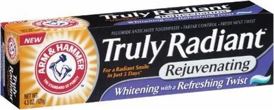 Toothpaste, Arm & Hammer® Truly Radiant Toothpaste (4.3 oz Box)