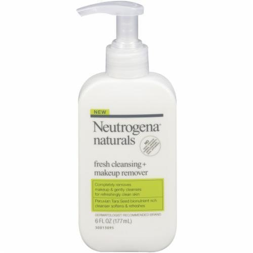 Makeup Remover, Neutrogena® Naturals Fresh Cleansing + Makeup Remover (6 oz Pump Bottle)