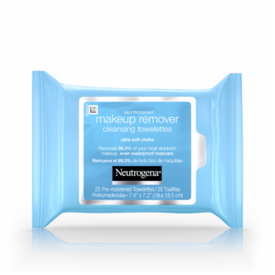 Makeup Remover, Neutrogena® Makeup Remover Face Wipes (25 Count Bag)