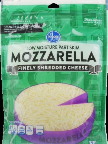 Shredded Cheese, Kroger® Finely Shredded Mozzarella Cheese (8 oz Resealable Bag)