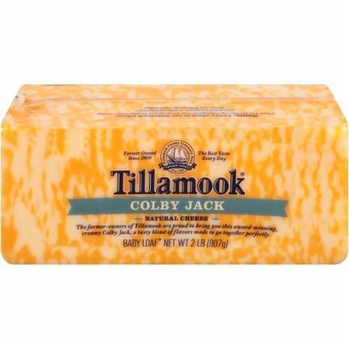 Cheese Block, Tillamook® Block of Colby Jack Cheese (32 oz Bag)