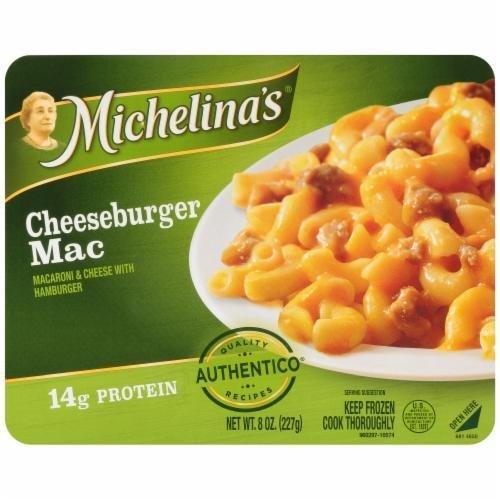 Mac N Cheese Dinner, Michelina's® Cheeseburger Macaroni & Cheese (8 oz Box)