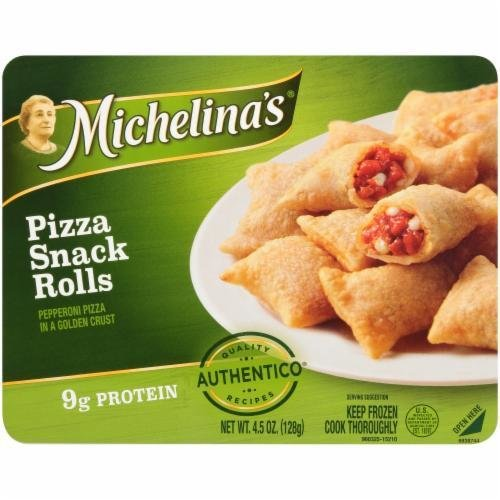 Frozen Pizza Snacks, Michelina's® Pizza Snack Rolls (4.5 oz Box)