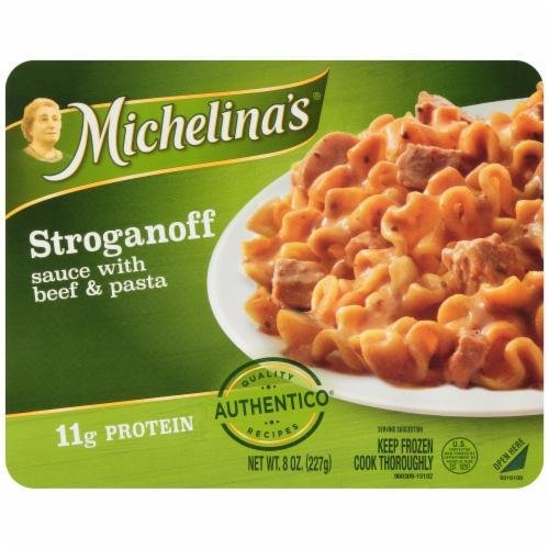 Frozen Dinner, Michelina's® Stroganoff with Beef & Pasta (8 oz Box)