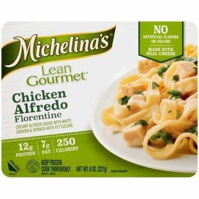 Frozen Dinner, Michelina's® Lean Gourmet Chicken Alfredo Florentine (8 oz Box)