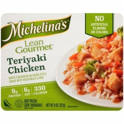 Frozen Dinner, Michelina's® Lean Gourmet Teriyaki Chicken (8 oz Box)