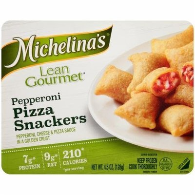 Frozen Pizza Snacks, Michelina's® Lean Gourmet Pepperoni Pizza Snackers (4.5 oz Box)