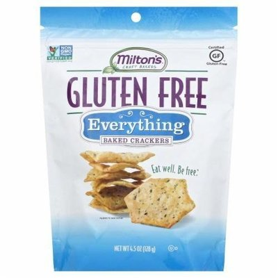 Crackers, Milton's® Gluten Free Everything Baked Cracker (4.5 oz Bag)