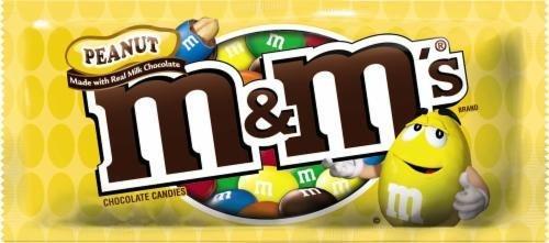 Chocolate Candies, Mars® M&M's® Peanut (1.74 oz Bag)