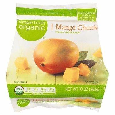 Frozen Fruit, Simple Truth Organic™ Mango Chunks (10 oz Bag)
