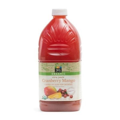 Juice Drink, 365® Organic Cranberry Mango Juice (64 oz Bottle)
