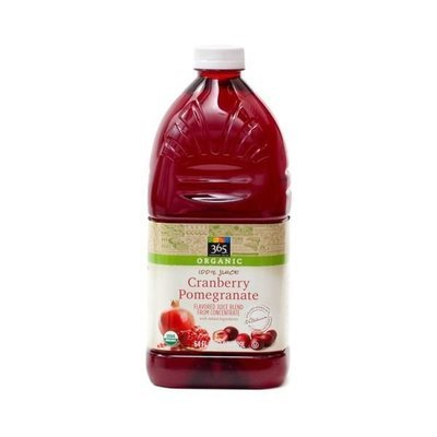 Juice Drink, 365® Organic Cranberry Pomegranate  Juice (64 oz Bottle)
