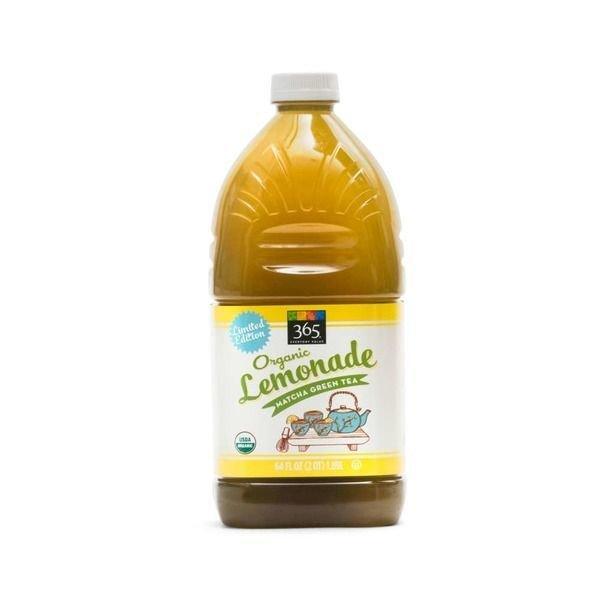 Juice Drink, 365® Organic Tea Matcha Green  Lemonade (64 oz Bottle)