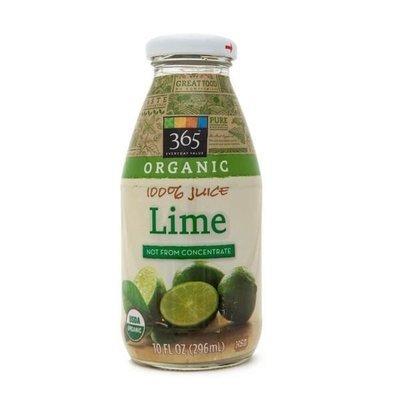 Juice Drink, 365® Organic Lime Juice (10 oz Bottle)