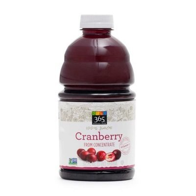 Juice Drink, 365® Cranberry Juice (32 oz Bottle)