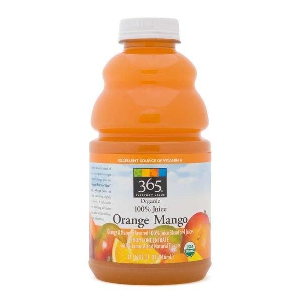 Juice Drink, 365® Organic Orange Mango Juice (32 oz Bottle)