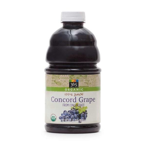 Juice Drink, 365® Organic Concord Grape Juice (32 oz Bottle)