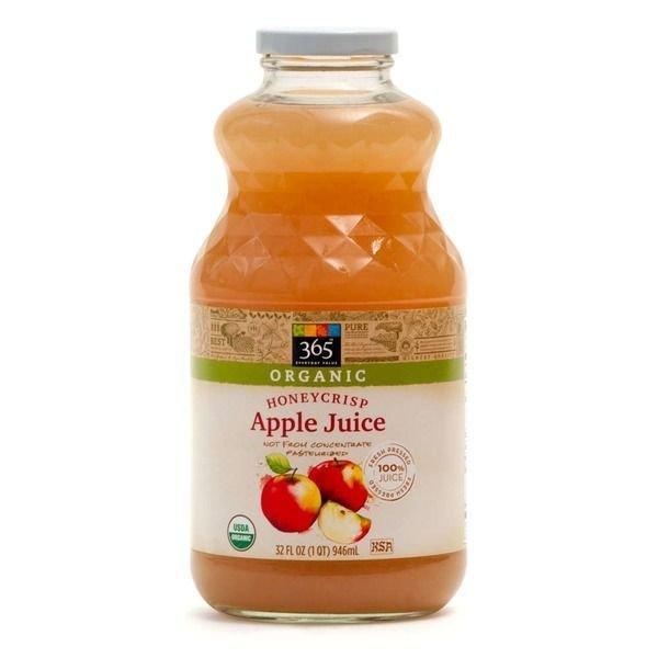 Juice Drink, 365® Organic Honey Crisp Apple Juice (32 oz Bottle)