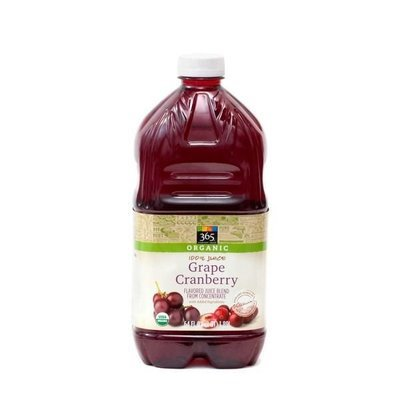 Juice Drink, 365® Organic Grape Cranberry Juice (64 oz Bottle)