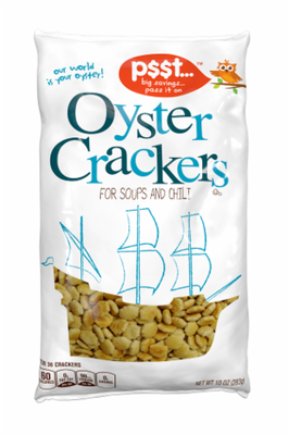 Oyster Crackers, P$$t...® Oyster Crackers (10 oz Bag)