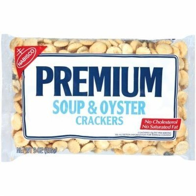 Oyster Crackers, Nabisco® Premium Soup & Oyster Crackers (9 oz Bag)
