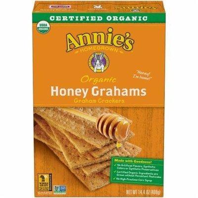Graham Crackers, Annie's® Organic Honey Graham Crackers (14.4 oz Box)