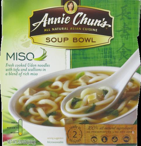 Soup, Annie Chun's® Miso Soup Bowl (5.4 oz Box)