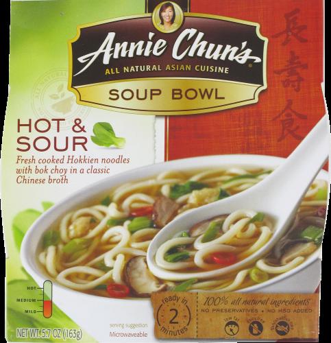 Soup, Annie Chun's® Hot & Sour Soup Bowl (5.5 oz Box)