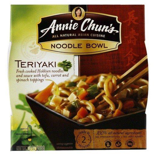 Noodles, Annie Chun's® Teriyaki Noodle Bowl (8.4 oz Box)