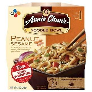 Noodles, Annie Chun's® Peanut Sesame Noodle Bowl (9.1 oz Box)