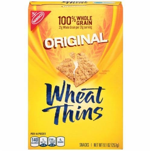 "Crackers, Nabisco® Wheat Thins® ""Original"" Crackers (9.1 oz Box)"