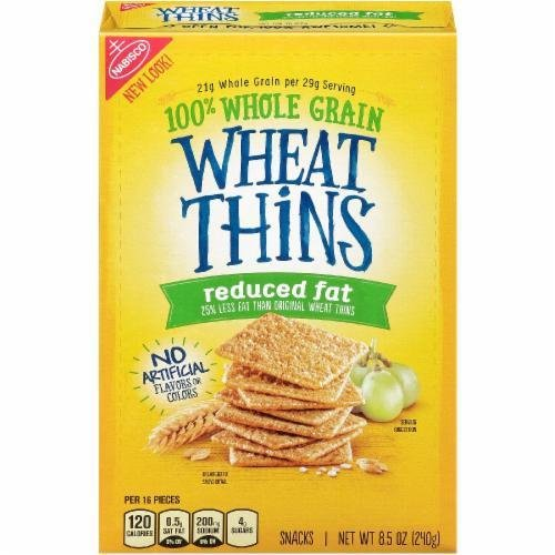 """Crackers, Nabisco® Wheat Thins® """"Reduced Fat"""" Crackers (8.5 oz Box)"""