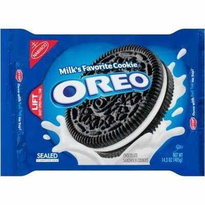 Sandwich Cookies, Nabisco® Oreo® Sandwich Cookies (14.3 oz Bag)