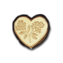 Wax Envelope Seal | 829-H Flower Heart