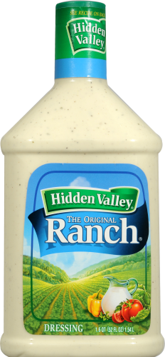 Salad Dressing, Hidden Valley Ranch® Original Ranch (52 oz Bottle)