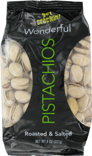 Snack Food, Wonderful® Pistachio Nuts (8 oz Bag)