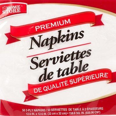 Dinnerware, Home Store® Paper Napkins (50 Napkins)