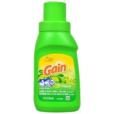 Laundry Soap, Gain® Original Liquid Laundry Detergent (10 oz Bottle)