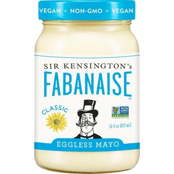 Eggless Mayonnaise, Sir Kensington's® Fabanaise Eggless Mayo (16 oz Jar)