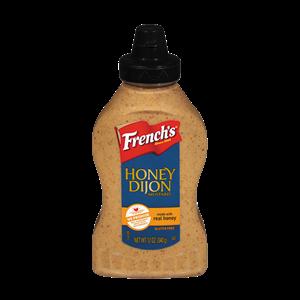 Mustard, French's® Honey Dijon Mustard (12 oz Bottle)