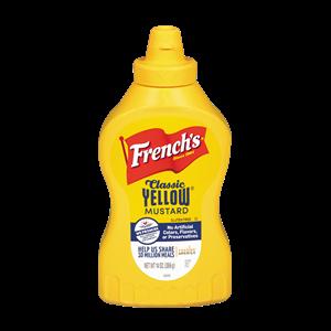Mustard, French's® Classic Yellow Mustard (14 oz Bottle)