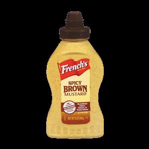 Mustard, French's® Spicy Brown Mustard (12 oz Bottle)