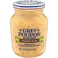 Mustard, Grey Poupon® Country Dijon Mustard (8 oz Jar)