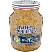 Mustard, Grey Poupon® Harvest Coarse Dijon Mustard (8 oz Jar)