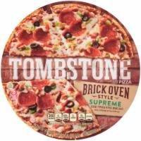 Frozen Pizza, Tombstone® Brick Oven Supreme Pizza (18 oz Box)