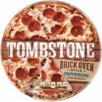 Frozen Pizza, Tombstone® Brick Oven Thin Crust Pepperoni Pizza (17 oz Box)
